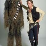 Han Solo y Chewbacca 30 años después